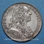 Monnaies Trésor royal. Louis XIV. Jeton argent 1737