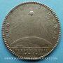 Monnaies Trésor royal. Louis XIV. Jeton argent 1751