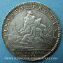 Monnaies Trésor royal. Louis XIV. Jeton argent 1755