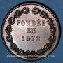 Monnaies Versailles, Union versaillaise du commerce & de l'industrie, jeton cuivre poinçon: corne d'abondance
