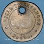 Monnaies Ville de Besançon. Jeton laiton 27,5 mm