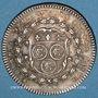 Monnaies Ville de Chartres. Louis XVI. Jeton argent