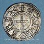 Monnaies Charles le Chauve (840-877). Denier. Clermont