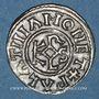 Monnaies Charles le Chauve (840-877). Denier. Le Palais