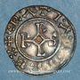 Monnaies Charles le Chauve (840-877). Denier. Meaux