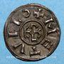 Monnaies Charles le Chauve (840-877). Denier. Melle