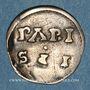 Monnaies Charles le Chauve (840-877). Denier. Paris