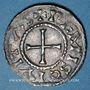 Monnaies Charles le Chauve (840-877). Denier. Reims