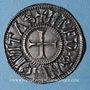 Monnaies Charles le Chauve (843-877). Denier. Rennes