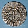 Monnaies Charles le Gros (885-887). Denier. Bourges