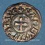 Monnaies Charles le Gros (885-887). Denier. Nevers
