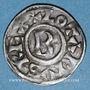 Monnaies Lothaire (954-986). Denier. Chalon-sur-Saône