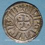 Monnaies Louis le Pieux (814-840). Denier au temple. Pavie(?) à partir de 822. R ! R !