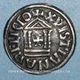 Monnaies Louis le Pieux (814-840). Denier au temple. Venise(?) à partir de 822