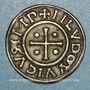 Monnaies Louis le Pieux (814-840). Denier au temple