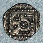 Monnaies Anglo-saxons. Sceat au porc-épic. Série E, VICO. Frise v. 695-740