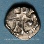 Monnaies Les Mérovingiens. Marseille. Nemfidius, patrice (vers 700-710). Denier