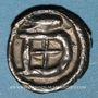 Monnaies Les Mérovingiens. Metz . Denier (vers 740)