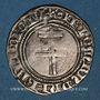 Monnaies Duché de Bar. René I (1451-1453). Gros. Saint-Mihiel