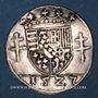 Monnaies Duché de Lorraine. Antoine (1508-1544). 1/4 teston 1527, Nancy