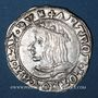 Monnaies Duché de Lorraine. Antoine (1508-1544). 1/4 teston 1538, Nancy