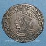 Monnaies Duché de Lorraine. Antoine (1508-1544). 1/4 teston 1538. Nancy