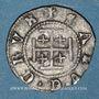 Monnaies Duché de Lorraine. Antoine (1508-1544). 2 deniers. Nancy