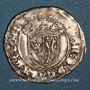 Monnaies Duché de Lorraine. Antoine (1508-1544). Demi-gros. Nancy