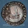 Monnaies Duché de Lorraine. Antoine (1508-1544). Double gros de trois gros (= plaque). Nancy