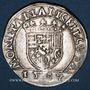 Monnaies Duché de Lorraine. Antoine (1508-1544). Teston 1537. Nancy
