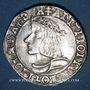 Monnaies Duché de Lorraine. Antoine (1508-1544). Teston 1538, Nancy