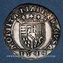 Monnaies Duché de Lorraine. Antoine (1508-1544). Teston 1544. Nancy