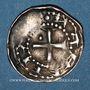 Monnaies Duché de Lorraine. Berthe de Souabe (1176-1195). Denier. Nancy. Type inédit ! Unique !