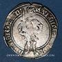 Monnaies Duché de Lorraine. Charles II (1390-1431). Demi-gros. Nancy. R ! R !