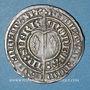 Monnaies Duché de Lorraine. Charles II (1390-1431). Gros à l'écu heaumé. Sierck, 1390-1420