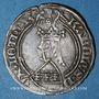 Monnaies Duché de Lorraine. Charles II (1390-1431). Gros à l'écu heaumé. Sierck