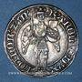 Monnaies Duché de Lorraine. Charles II (1390-1431). Gros. Nancy (1390-1420)