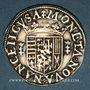 Monnaies Duché de Lorraine. Charles III (1545-1608). 1/4 teston au buste âgé Nancy