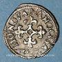 Monnaies Duché de Lorraine. Charles III (1545-1608). Liard 1581. Nancy