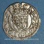 Monnaies Duché de Lorraine. Charles III (1545-1608). Sol ou carolus. Nancy (1582-1608)