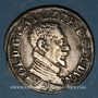 Monnaies Duché de Lorraine. Charles III (1545-1608). Teston au buste âgé (1582-1608). Nancy
