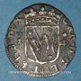 Monnaies Duché de Lorraine. Charles IV, 2e règne (1661-1670). Gros. Nancy