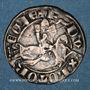 Monnaies Duché de Lorraine. Ferry III (1251-1303). 1/4 de gros dit spadin. Nancy