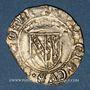 Monnaies Duché de Lorraine. François I (1544-1545). Demi-gros. Nancy.