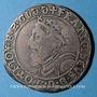 Monnaies Duché de Lorraine. François I (1544-1545). Teston 1545. Nancy. R !