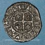 Monnaies Duché de Lorraine. Henri II (1608-1624). Double denier. Nancy