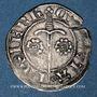 Monnaies Duché de Lorraine. Jean I (1346-1390). 1/4 de gros.  Sierck