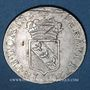 Monnaies Duché de Lorraine. Léopold (1697-1729). Demi-teston 1720. Nancy