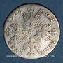 Monnaies Duché de Lorraine. Léopold (1697-1729). Masson de 12 sous 6 deniers 1728. Nancy