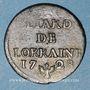 Monnaies Duché de Lorraine. Léopold I (1697-1729). Liard 1728. Nancy